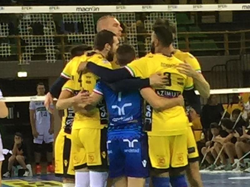 Azimut Modena – Kioene Padova – 19 ottobre 2016