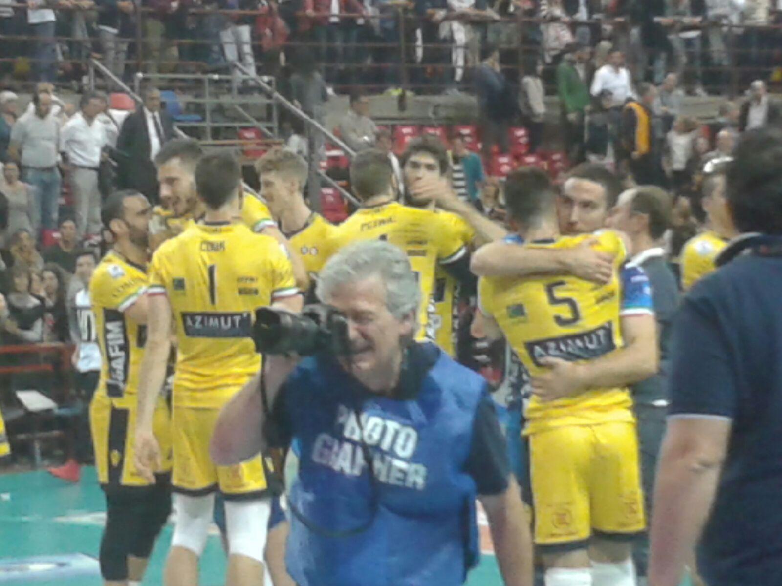 Modena fa suo il primo big-match: corsaro a Perugia, 1-3!