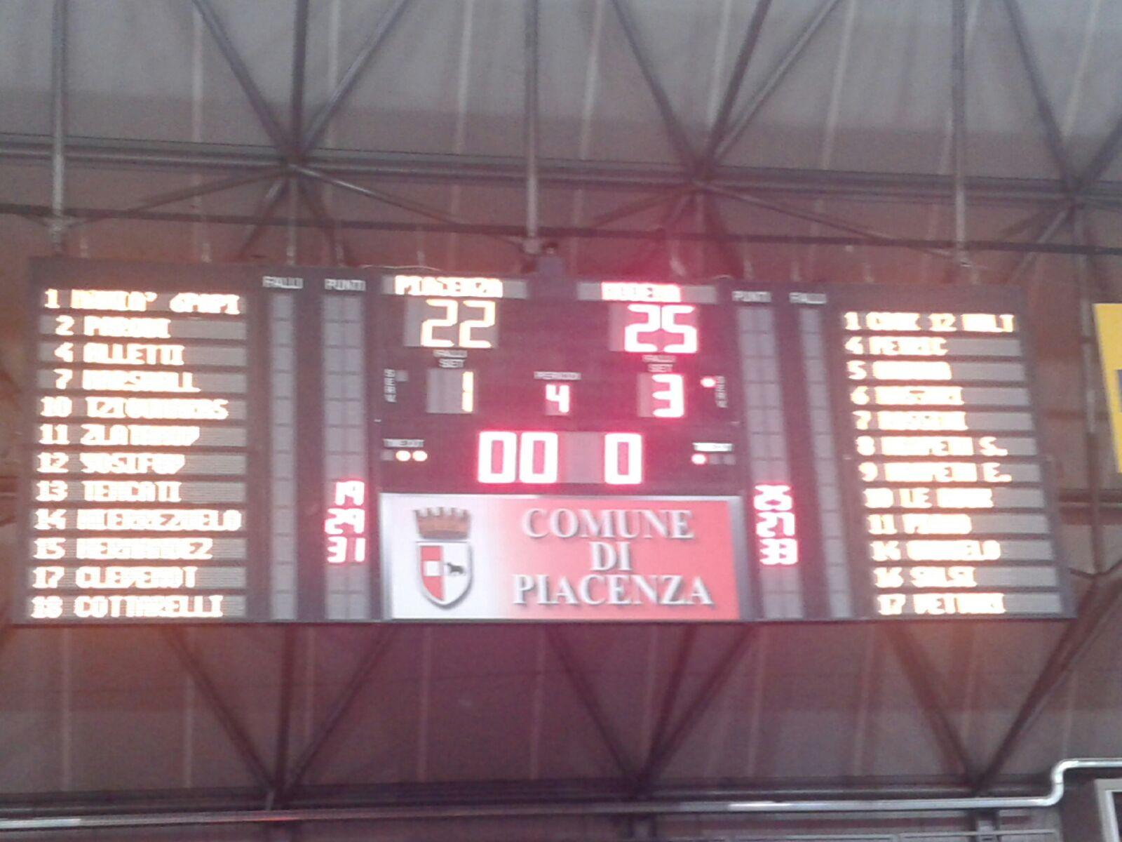 Modena, ti sei ripresa! Espugnata Piacenza: 1-3!