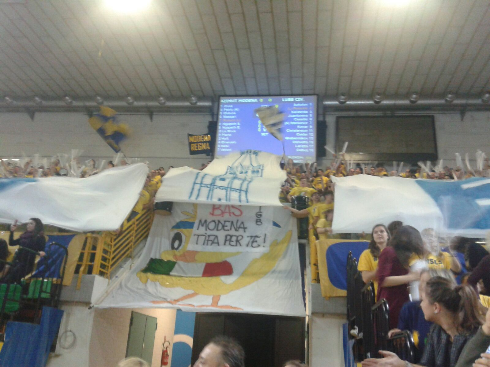 Modena sfiora l'impresa: battuta Civitanova al tie-break