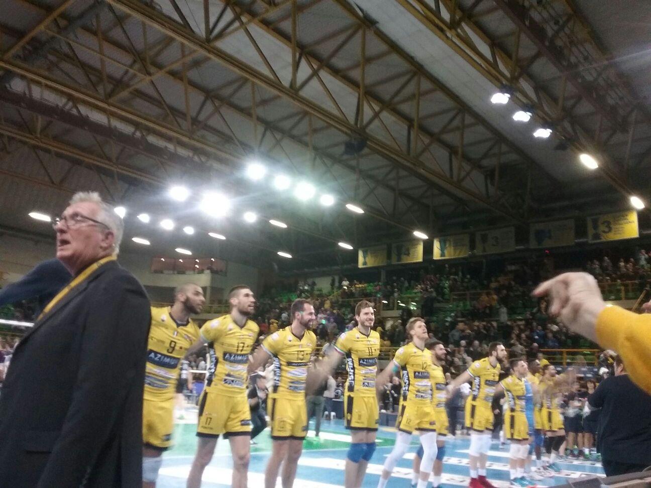 Si chiude la regular season con una vittoria: 3-1 contro Piacenza