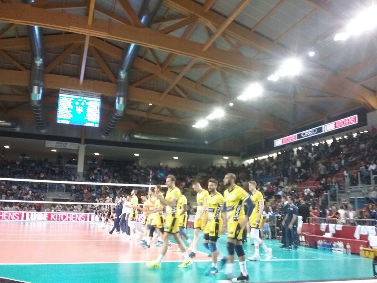 Finisce il sogno europeo. Modena crolla anche a Civitanova: 0-3