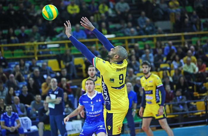 Azimut Modena Volley – ACH Volley Ljubljana-6 dicembre 2016