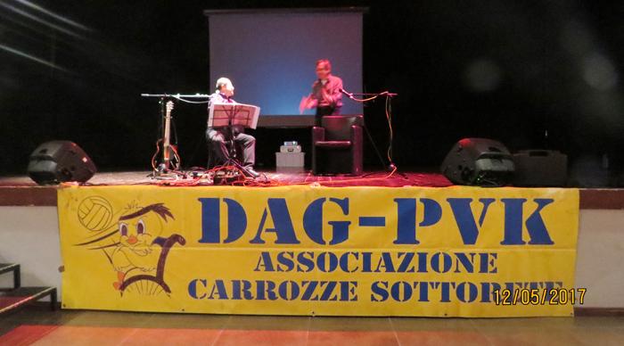 Marco Dieci e Leo Turrini – Eppure Angelo canta ancora – 12 maggio 2017
