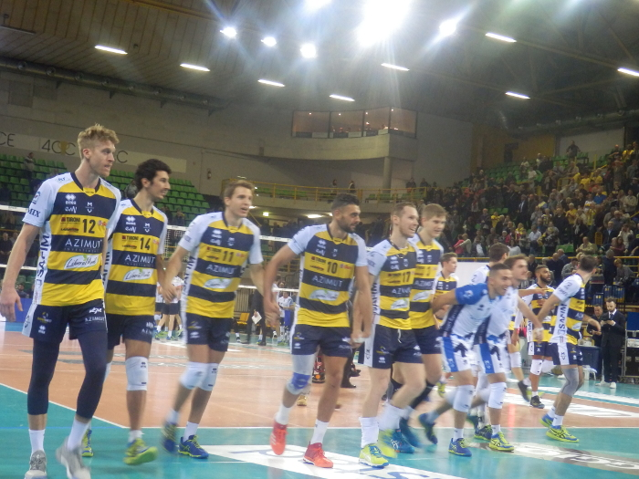 Azimut Modena Volley Vs Gi Group Monza 25 ottobre 2017
