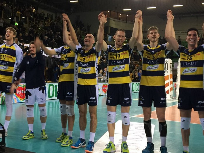 Azimut Volley Modena Vs. Volley Tonno Callipo Vibo Valentia 11-02-2018