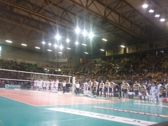 Azimut Volley Modena Vs. Revivre Milano quarti play off 11-03-2018