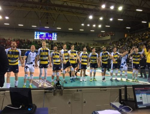 Azimut Volley Modena Vs Lube Civitanova play off gara 2 01-04-2018