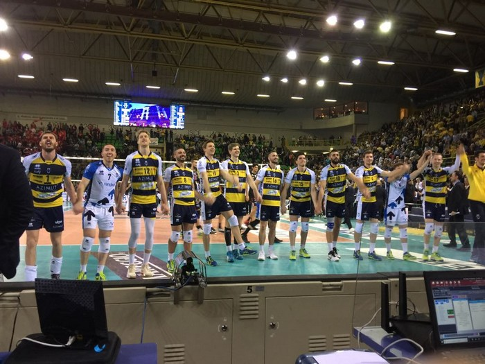 Azimut Volley Modena Vs Lube Civitanova play off gara 2 01-04-2018