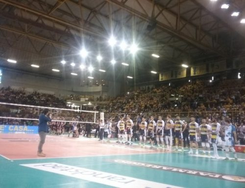 Azimut Volley Modena Vs Lube Civitanova play off gara 4 15-04-2018