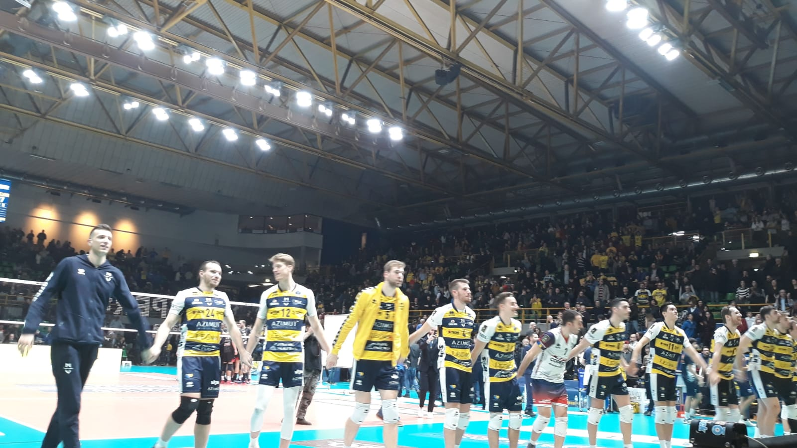Azimut Leo Shoes Modena Vs. Bcc Castellana Grotte 30-12-2018