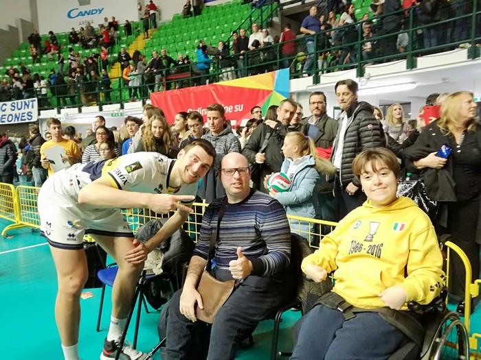 Vero volley Monza Vs. Azimut Leo Shoes Modena 02-12-2018