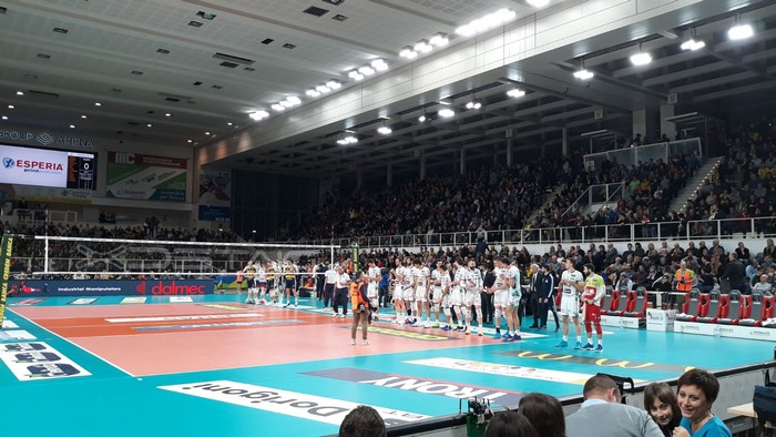Itas Trentino Vs. Azimut Leo Shoes Modena 16-12-2018